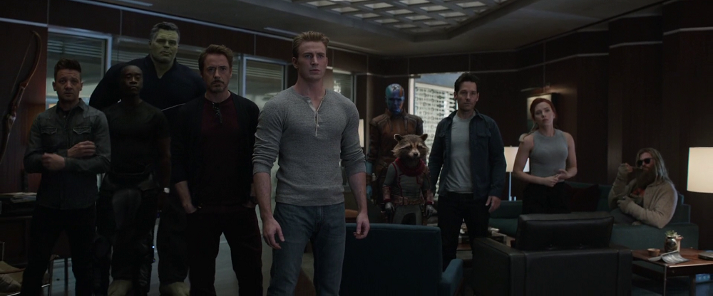 Avengers Endgame team prepare for their mission
