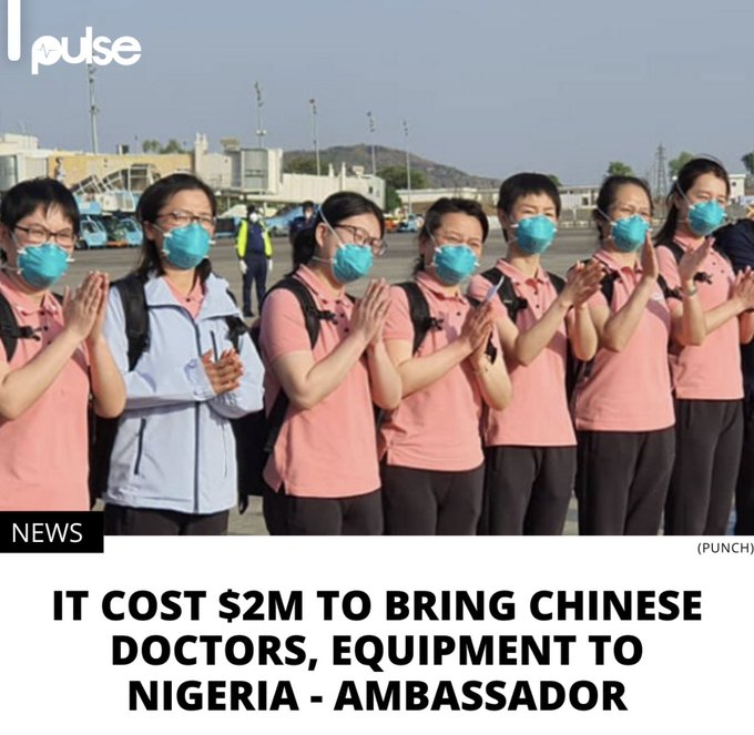Chinese Doctors in Nigeria