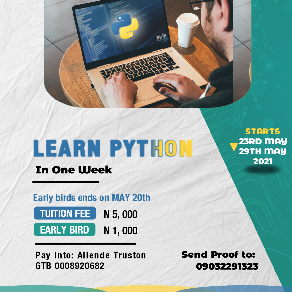 Learn Python in One Week